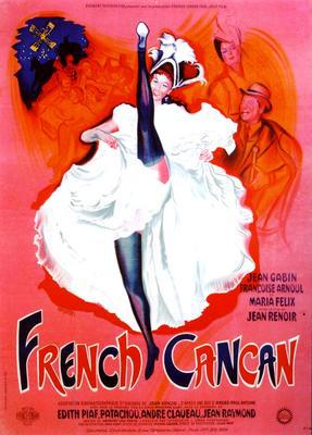 French Cancan - Poster France