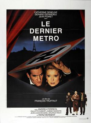 The Last Metro - Poster France