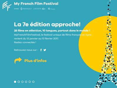 MyFrenchFilmFestival, nouvelle édition, nouvelle plateforme !