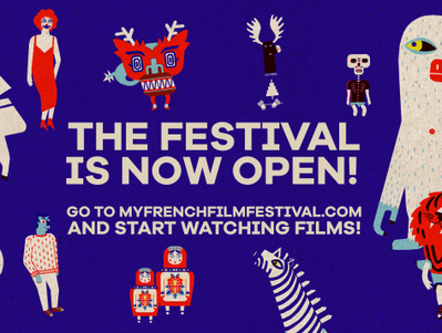 11th edition of MyFrenchFilmFestival: It's on!